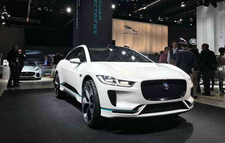 I-Pace representa a primeira série de veículos elétricos à bateria de produção da Jaguar  - Jorge Moraes/DP
