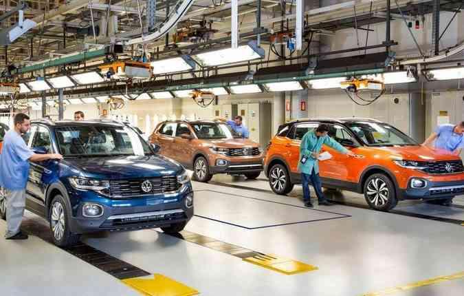 A Volkswagen é a maior marca exportadora do país. Foto: Volkswagen/ Divulgação