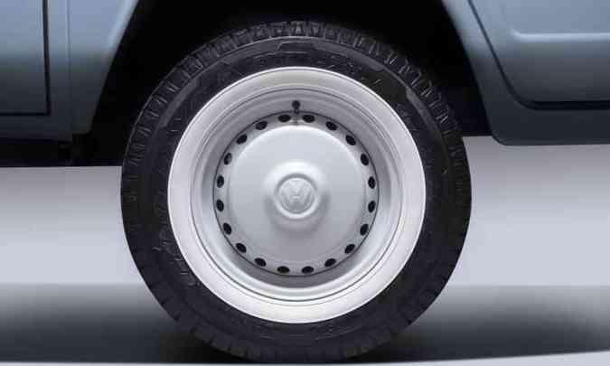 Série derradeira se diferenciava, entre outros itens, pela pintura saia e blusa e rodas brancas(foto: Volkswagen/Divulgação)