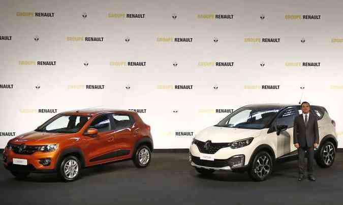 Kwid e Captur serão fabricados em São José dos Pinhais (PR) a partir do início do ano que vem(foto: Renault/Divulgação)
