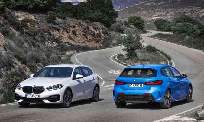 BMW Série 1 estreou no Brasil na versão 118i Sport e agora chega a M135i xDrive(foto: BMW/Divulgação)