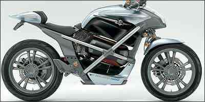 Crosscage usa tecnologia de célula a combustível, a partir do hidrogênio, para alimentar baterias de lítio, movimentando a moto -
