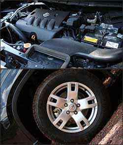 Motor 2.0 16V tem 138 cv de potência. Roda de liga aro 16 e pneu de medida 215/65 -