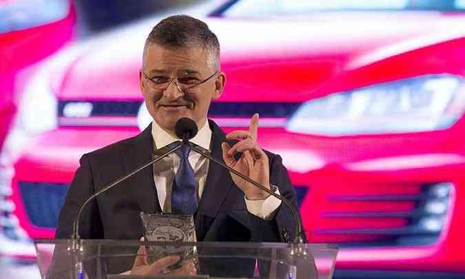 Chefe da Volkswagen nos Estados Unidos, Michael Horn, deve ser demitido até sexta-feira(foto: MARK BLINCH/AFP)