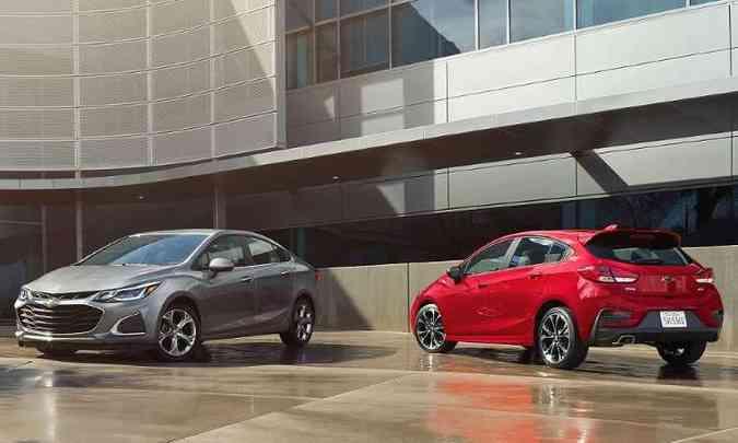 Chevrolet Cruze Sedan e Sport6 2020(foto: Autoo.com/Reprodução da Internet)