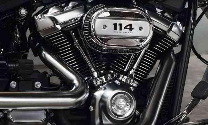 O motor de dois cilindros em V ganhou novo batismo(foto: Harley-Davidson/Divulgação)