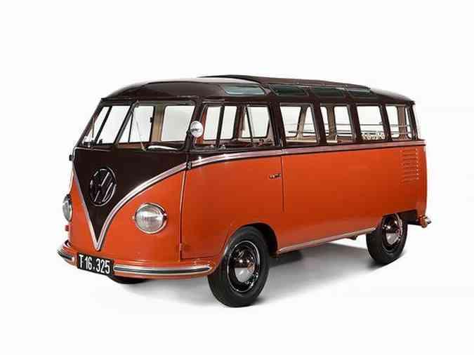 Volkswagen Kombi 1955 foi vendida em um leilão na Europa por 190 mil eurosAuctionata/Divulgação