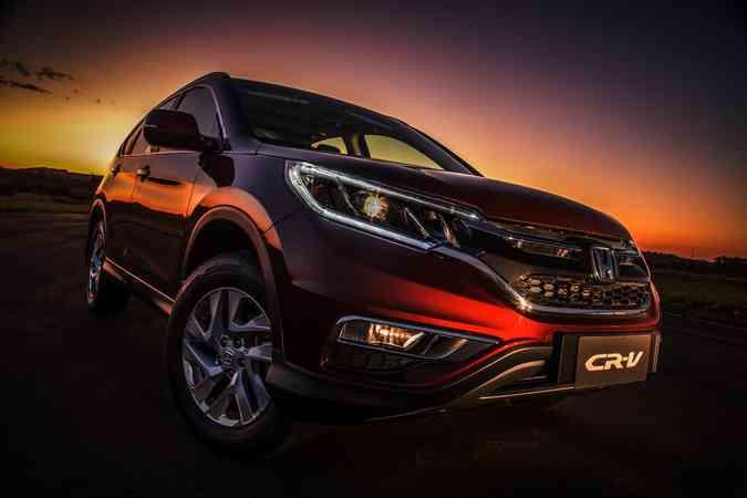 Honda CR-V 2015Honda/Divulgação