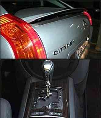 Defletor traseiro se eleva a partir de 65 km/h no primeiro estágio. Transmissão automática de seis marchas tem opção de troca manual