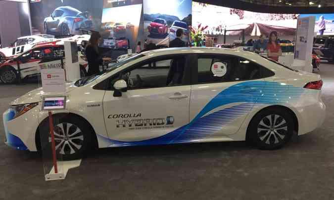 O modelo norte-americano foi apresentado no Salão do Automóvel de Detroit, em janeiro(foto: Enio Greco/EM/D.A Press)