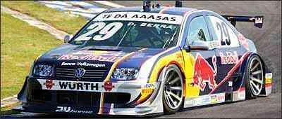 Volkswagen faz crer que bolha do Bora, que compete na Stock Car, seria o carro de produção em série - Ricardo Hirai/Volkswagen/Divulgação