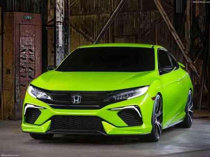 Honda Civic ConceptHonda /Divulgação