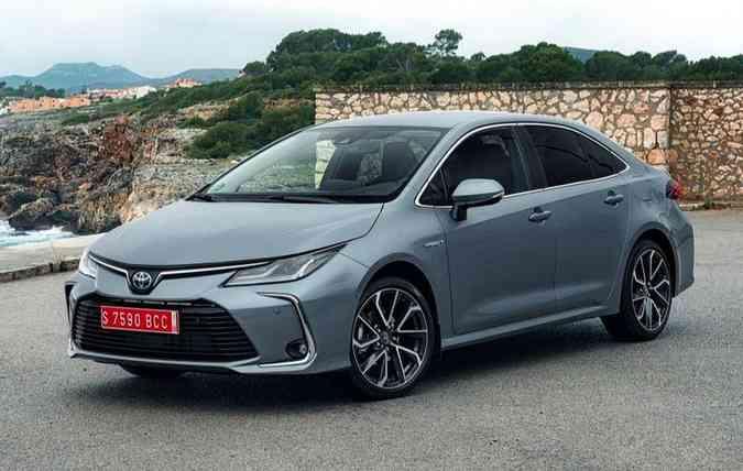 Modelo terá as mesmas linhas do sedã europeu. Foto: Toyota / Divulgação