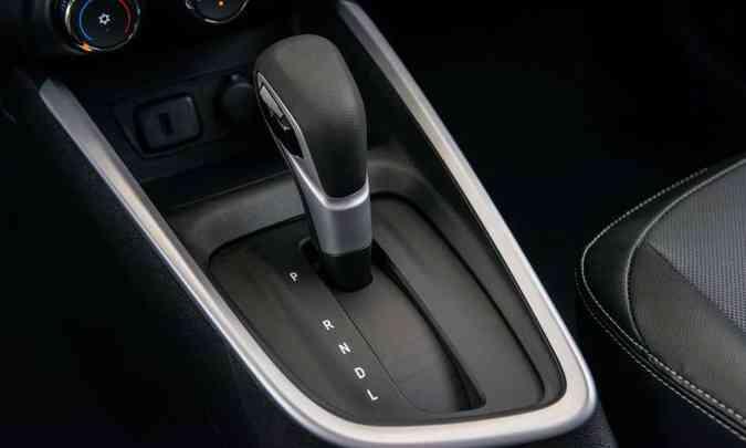 A única opção de câmbio para os dois modelos é o automático de seis velocidades(foto: Chevrolet/Divulgação)