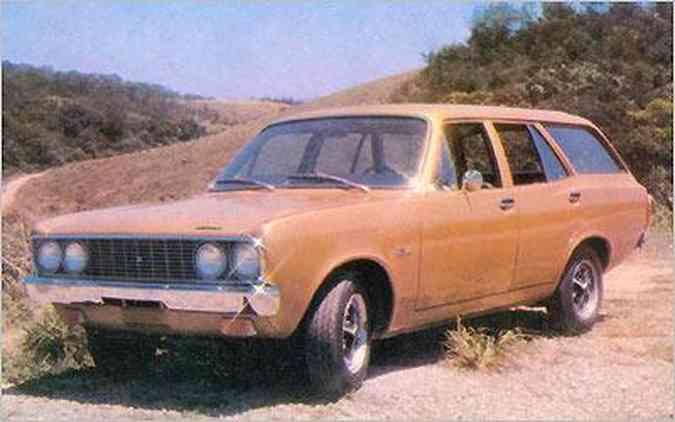 Protótipo da perua foi apresentado em 1974, mas nunca chegou às ruas
