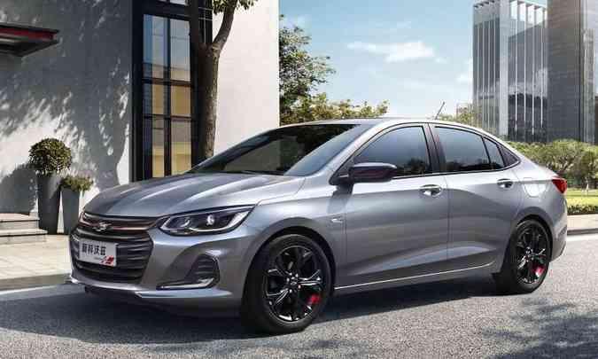 Chevrolet Prisma foi oficialmente apresentado na China(foto: Chevrolet/Divulgação)