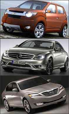 GM/Divulgação - Mercedes/Divulgação - Hyundai/Divulgação