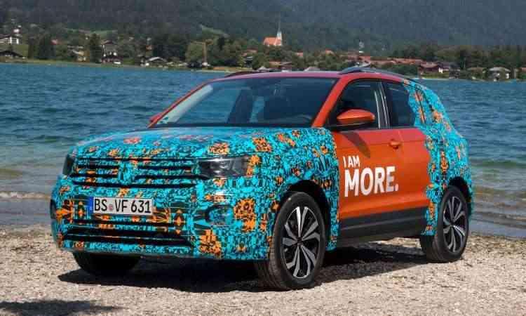 O T-Cross brasileiro terá 4,19m de comprimento, 1,56m de altura e 2,64m de distância entre-eixos - Volkswagen/Divulgação