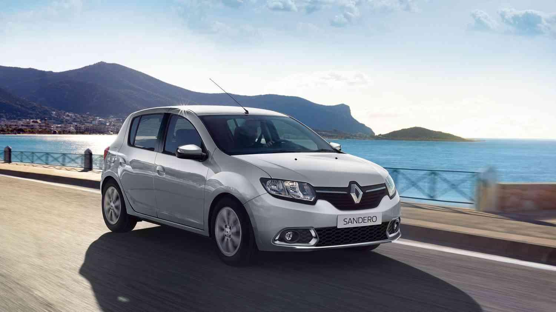 Sandero 1.0 faz 14,2 km/l na cidade quando abastecido com gasolina. Foto: Renault / Divulgação -