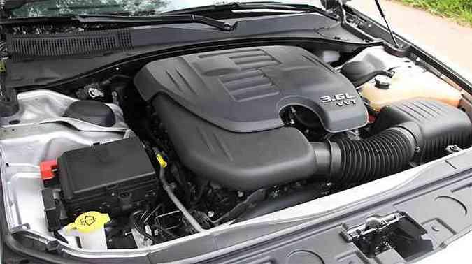 O novo motor Pentastar 3.6 ganhou 37cv em relação ao anterior