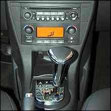 Câmbio automático de quatro velocidades -