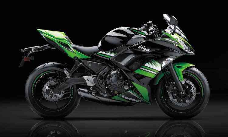 A 650 ABS ganhou carenagem com visual mais agressivo - Kawasaki/Divulgação