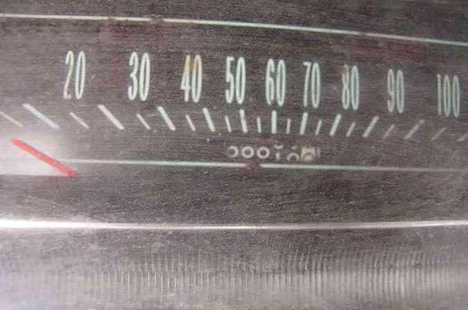 ... veículo nunca foi vendido e rodou apenas 10 milhas!(foto: Divulgação)