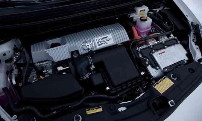A Toyota quer obter resultados ainda melhores em eficiência com o desenvolvimento de novas combinações(foto: Toyota/Divulgação)