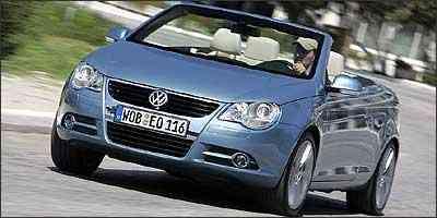 Cupê Eos será uma das grandes estrelas do salão - Volkswagen/Divulgação