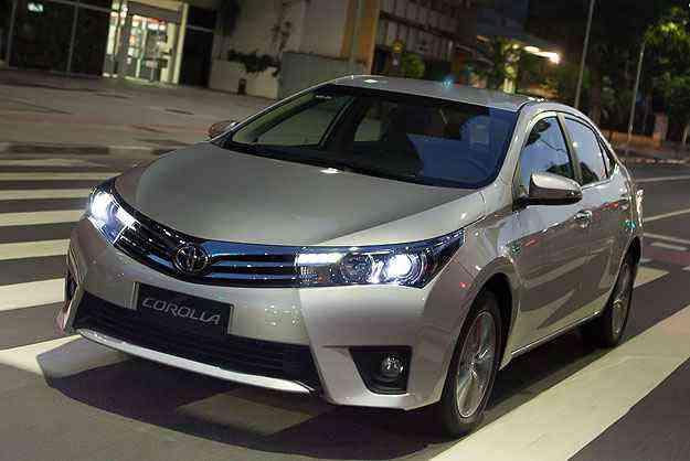Um dos destaques do novo Corolla está na ousadia do estilo, fugindo do cansativo padrão clássico - Toyota/Corolla