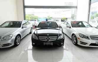 Audi, Mercedes e BMW são os mais procurados(foto: João Velozo/DP)