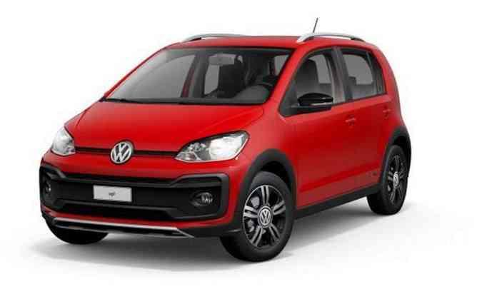 Depois de desaparecer do site da Volkswagen, o up! teve o fim da sua produção confirmado(foto: Volkswagen/Divulgação)
