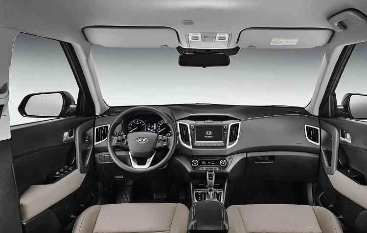 Interior também recebeu atualizações para comemorar a marca de 1 milhão de modelos produzidos. Foto: Hyundai / Divulgação -