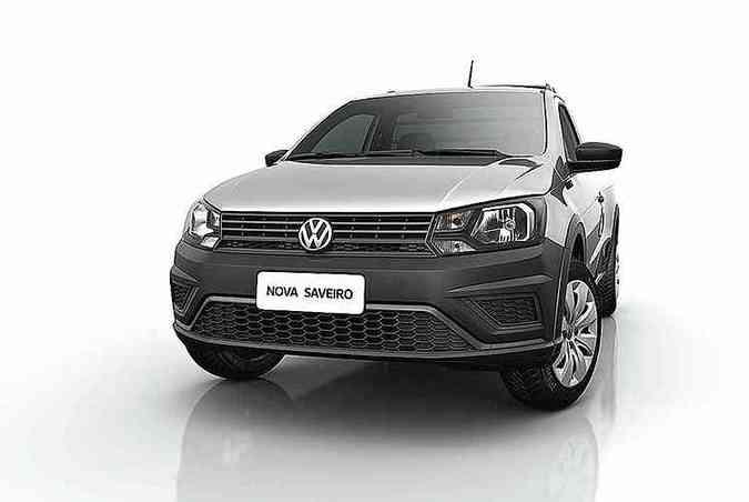 Versão Robust tem farol de um refletor e grade diferente...(foto: Volkswagen / Divulgação )