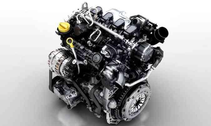 O motor 1.3 turbo da Renault desenvolve 170cv e 27,5kgfm de torque máximo(foto: Renault/Divulgação)