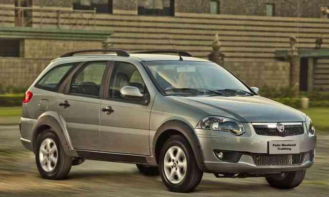 A última reestilização do modelo foi feita em 2012(foto: Fiat/Divulgação)