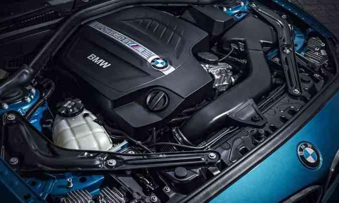 O motor é a cereja do bolo, com 370cv(foto: Uwe Fischer/BMW/Divulgação)
