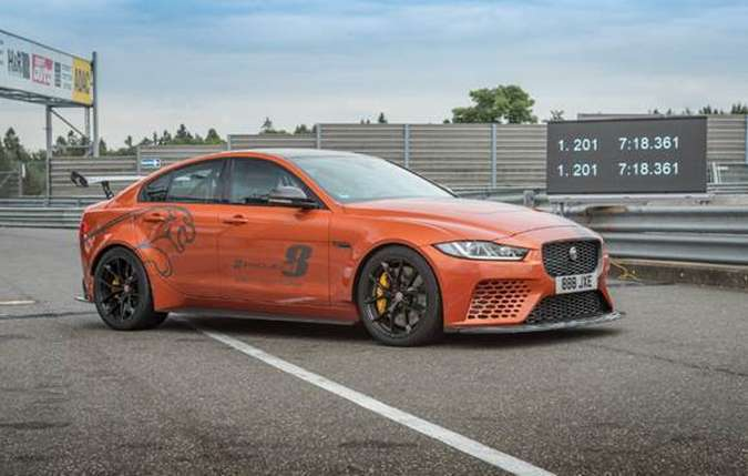Em novembro de 2017 a marca havia atingido a melhor marca de velocidade que, nesta semana foi superada em 2,9 segundos. Foto: Jaguar/ Divulgação