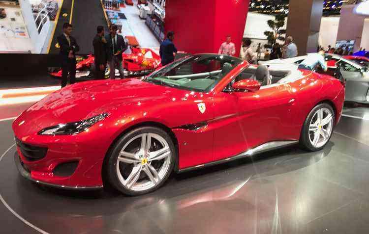 O motor V8 da Portofino é capaz de gerar 600 cv de potência - Jorge Moraes/DP