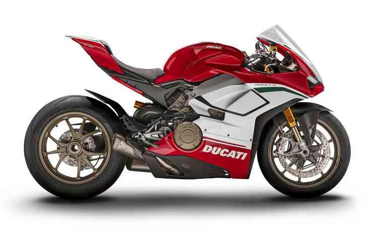 Só serão disponibilizadas 3 unidades do modelo para o Brasil. Foto: Ducati / Divulgação -