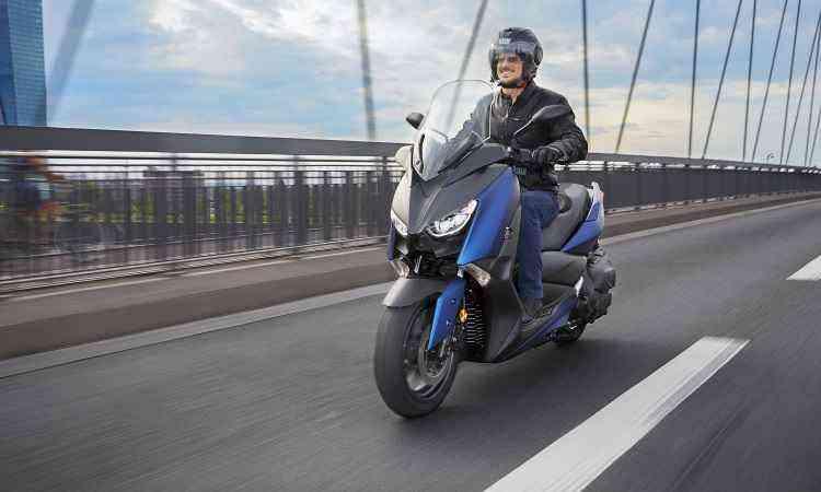 Modelo ganhou linhas mais agressivas, com estilo que sugere esportividade - Yamaha/Divulgação