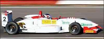 Romancini conquistou sua primeira vitória na Fórmula 3 Sul-Americana - Luca Bassani/Divulgação