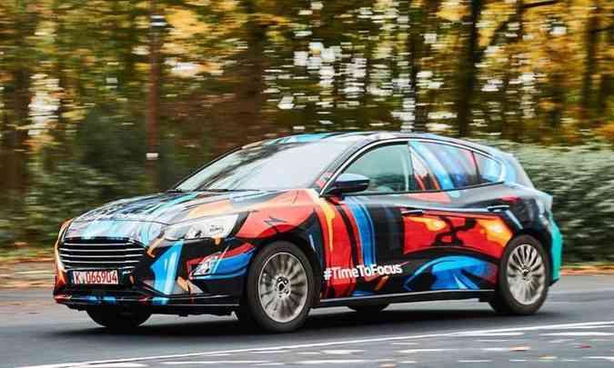 Novo Ford Focus deve ser apresentado no Salão de Detroit, em janeiro(foto: AutoExpress/Reprodução da internet)