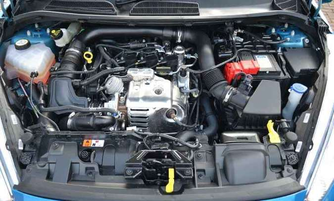 Na Europa, motor 1.0 turbo gera até 140cv de potência(foto: Ford/Divulgação)