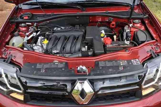 O motor 1.6 tem potência e torque limitados(foto: Juarez Rodrigues/EM/D.A Press)