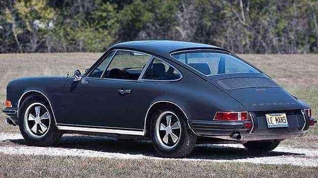 Porsche 911 S 1970, de Steve McQueen, será vendido pelo comediante Jerry Seinfeld - RM Auctions/Divulgação