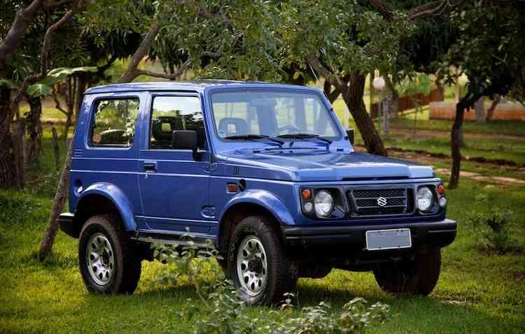 O Suzuki Samurai foi o modelo que antecedeu o Jimny - Eduardo Aigner/ Divulgação