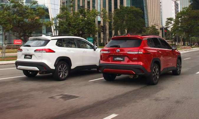 A Toyota espera vender 3.500 unidades por mês do novo SUV médio no Brasil(foto: Toyota/Divulgação)