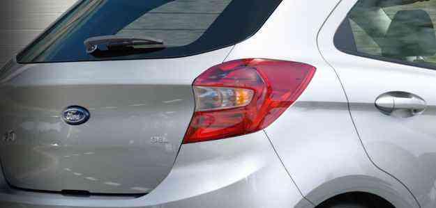 Imagens mostram traseira renovada  - Ford/divulgação