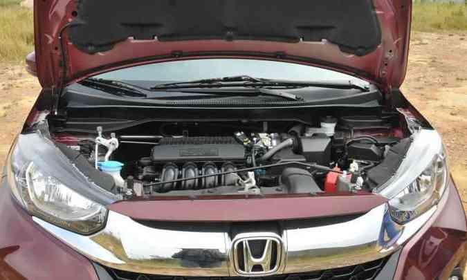O motor 1.5 de 16 válvulas dá conta do recado, proporcionando bom desempenho (foto: Jair Amaral/EM/D.A Press)